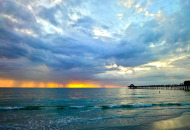 April Showers Sunset
