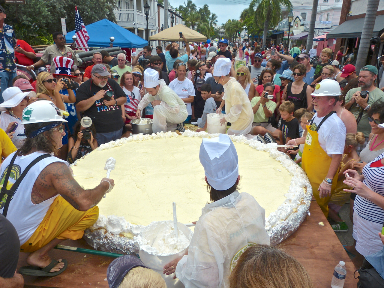 The Biggest Key Lime Pie Ever Made - Key West!