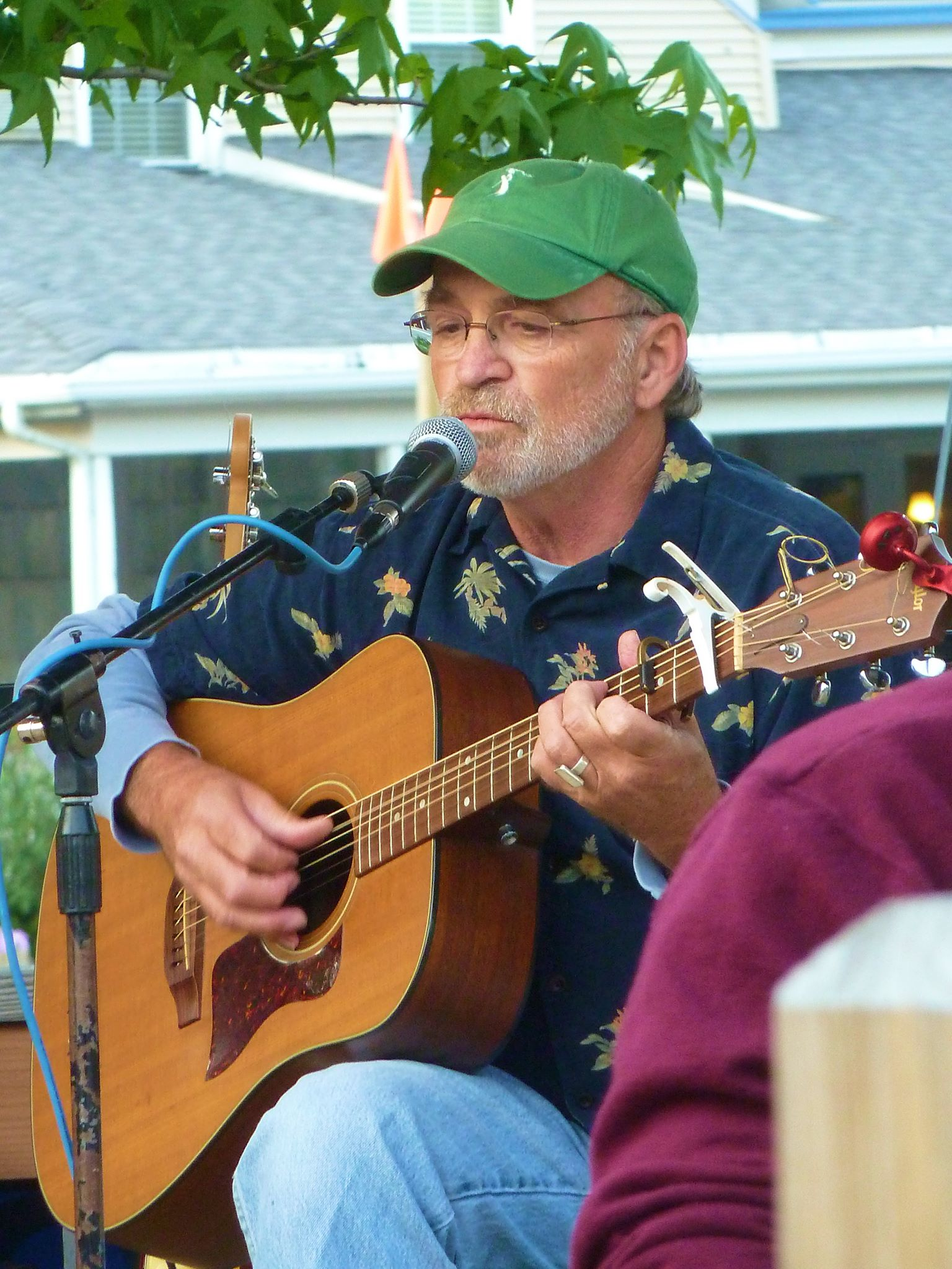 Performing in Glen Arbor, June 2013